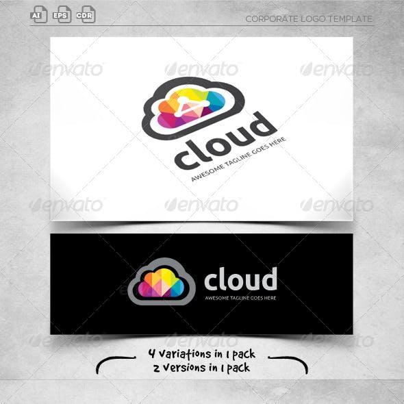 Cloud Connection - Logo Template