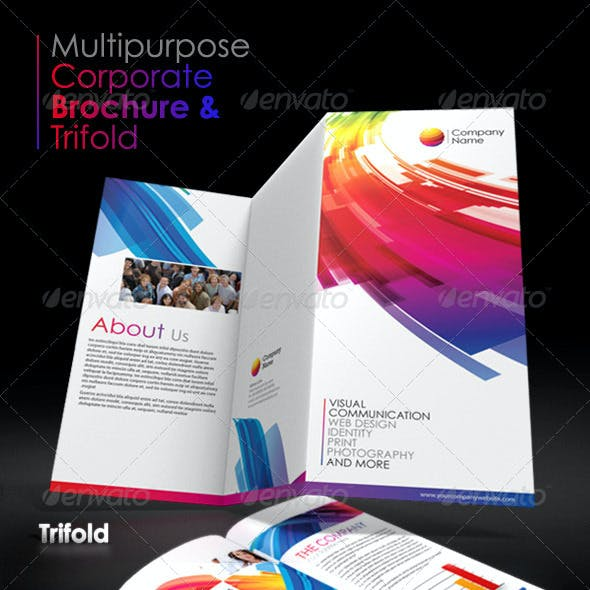 Multipurpose Corporate Brochure and Trifold