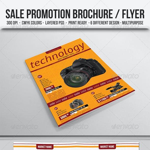 Sale Promotion Brochure/Flyer
