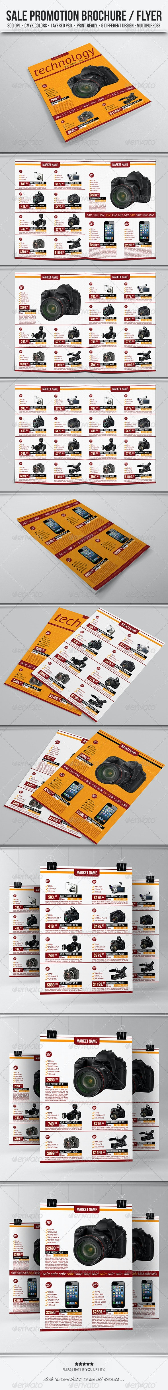 Sale Promotion Brochure/Flyer - Commerce Flyers