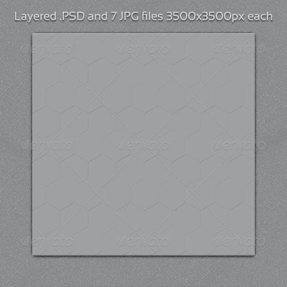 Hexagon PSD Backdrop