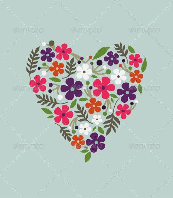Flower Card - Flowers & Plants Nature