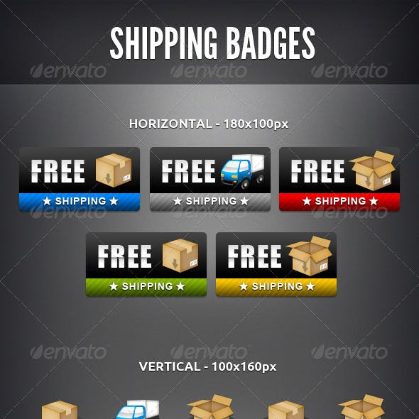Shipping Badges