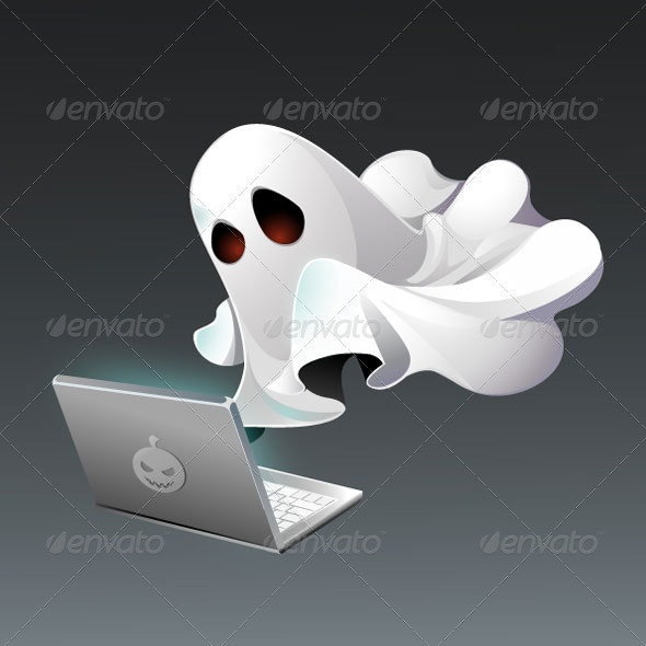 Ghost Writer - Characters Vectors