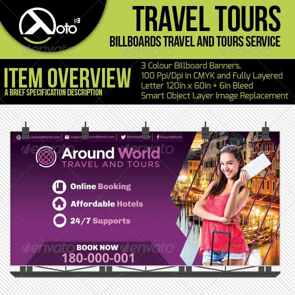 Travel and Tour Billboard