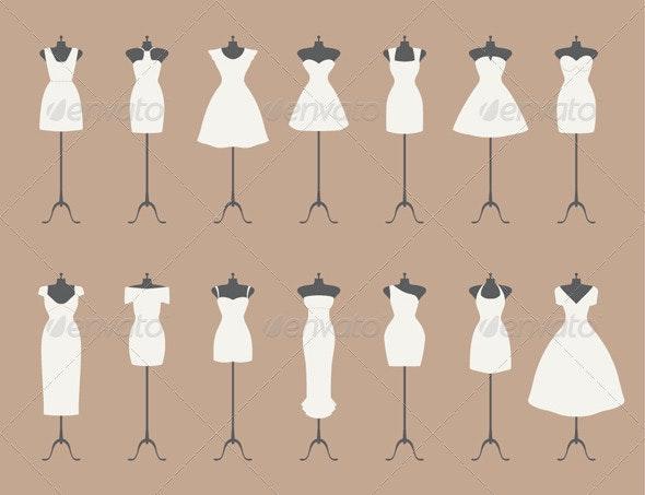 White Dresses  - Weddings Seasons/Holidays