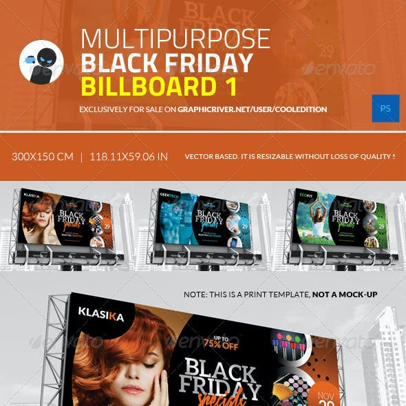 Multipurpose Black Friday Billboard 1