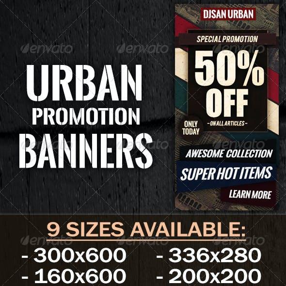 Urban Promotion Banner