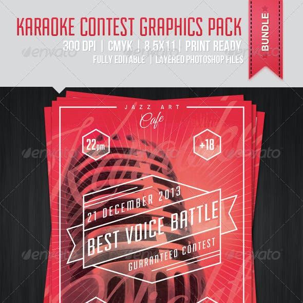 Karaoke Contest Poster