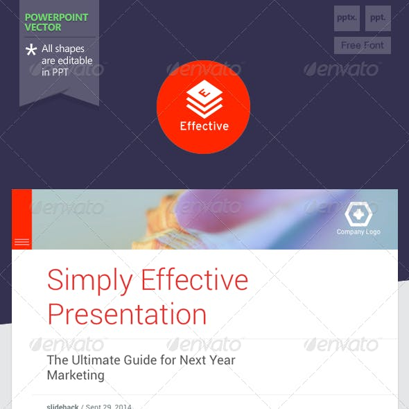 Effective - Powerpoint Template
