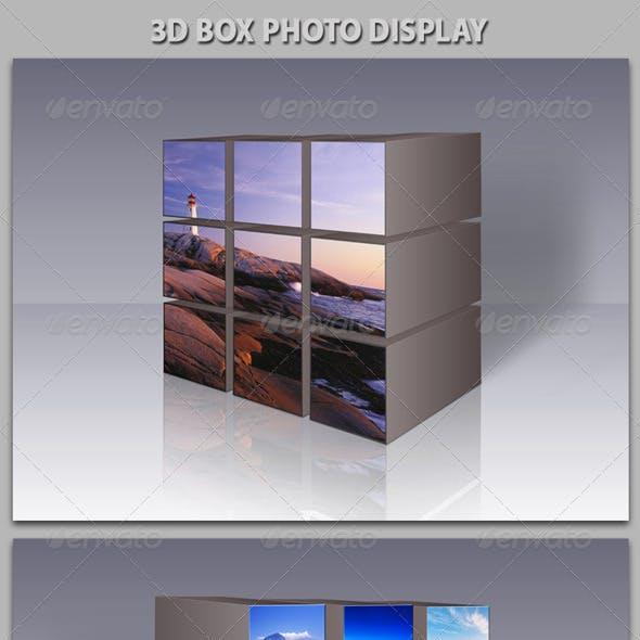 3D Box Photo Gallery