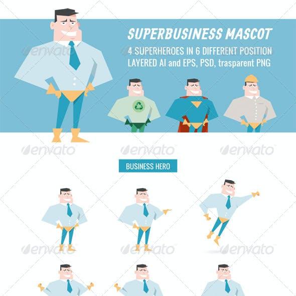 Superbusiness Mascot