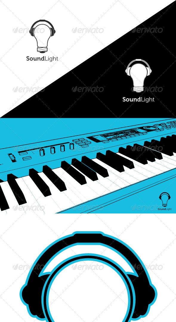 Sound / Light / Music Logo Template - Objects Logo Templates