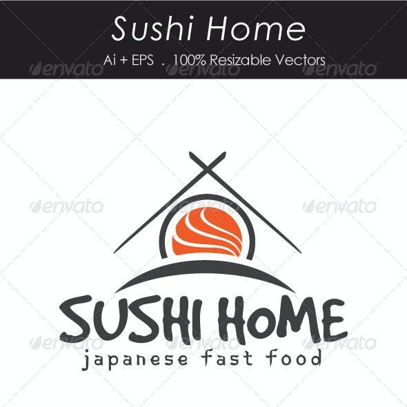 Sushi Home Logotype