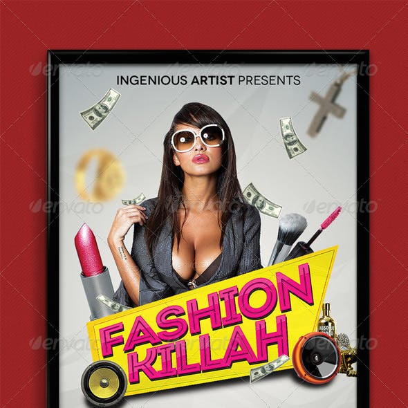 Fashion Killah Party Flyer