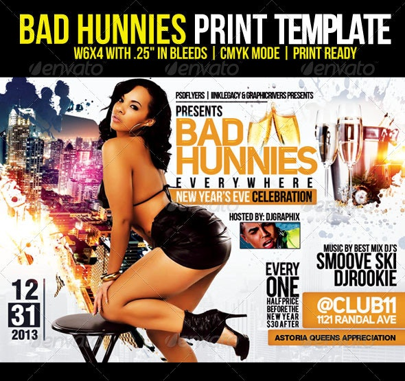 Bad Hunnies - Clubs & Parties Events