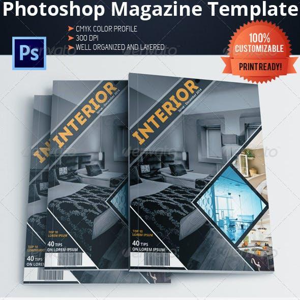 Architecture and Interior Design Magazine/Brochure