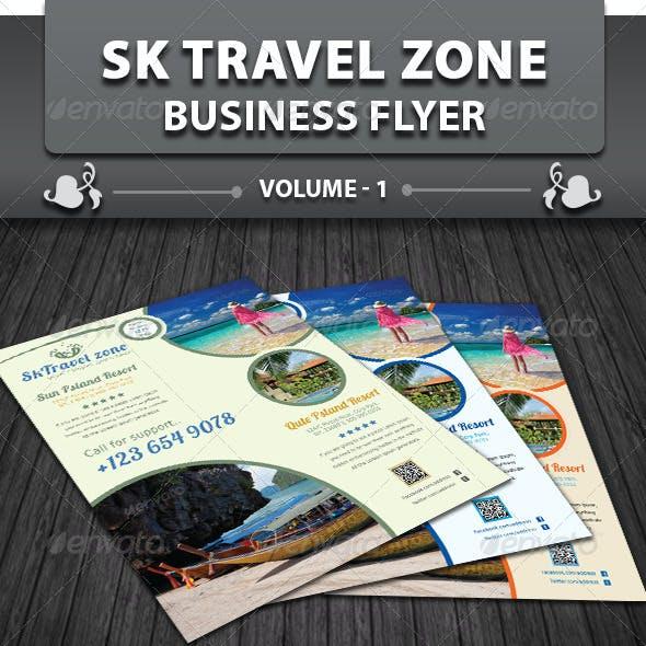 Travel / Tourism Business Flyer | Volume 1