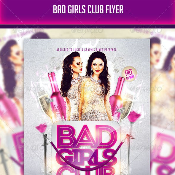 Bad Girls Club Flyer