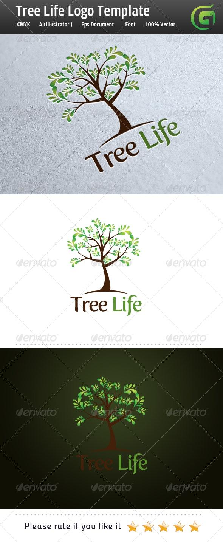Tree Life - Nature Logo Templates