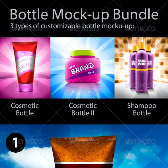 Bottle Mock-up Bundle