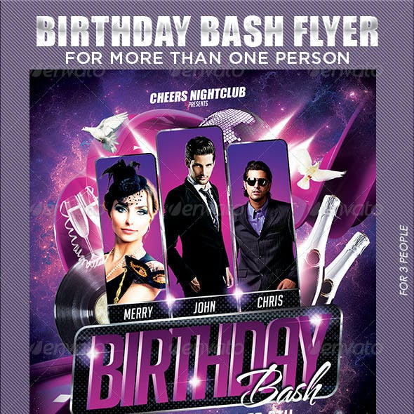 Multiple Birthday Bash