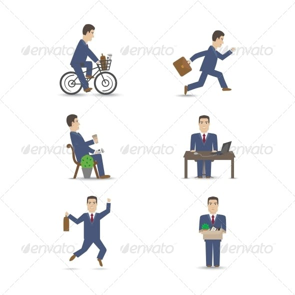 Business People Set