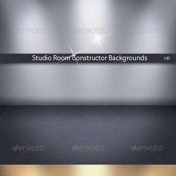 Studio Room Constructor Backgrounds
