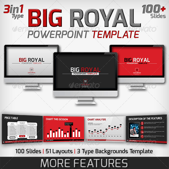 Big Royal PowerPoint Template