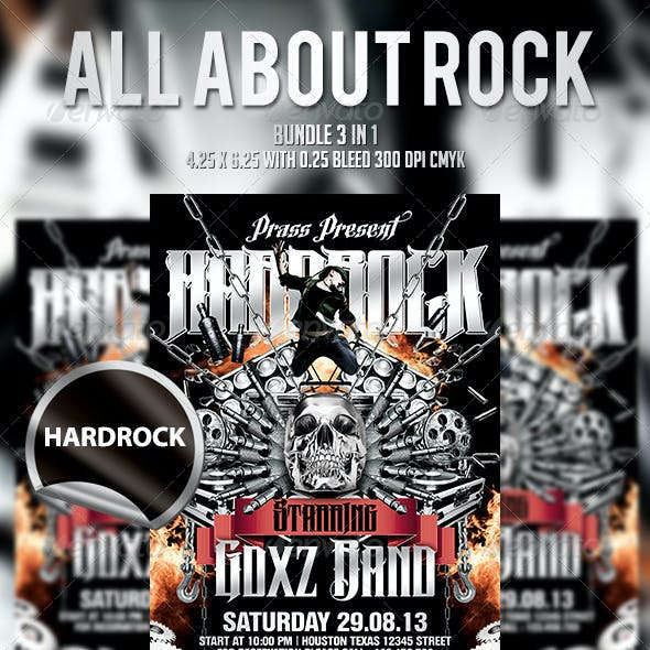 All About Rock - Bundle 3 In 1