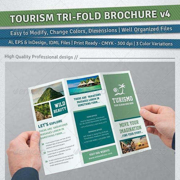 Tourism Tri-Fold Brochure | Volume 4
