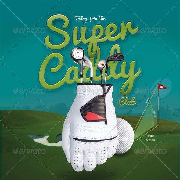 Sport Flyer Golf Caddy Club