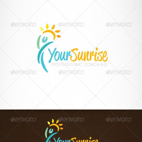 Health Life Coaching Creative Logo