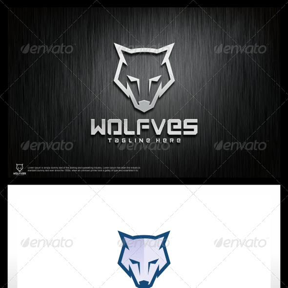 Wolfves Logo Template