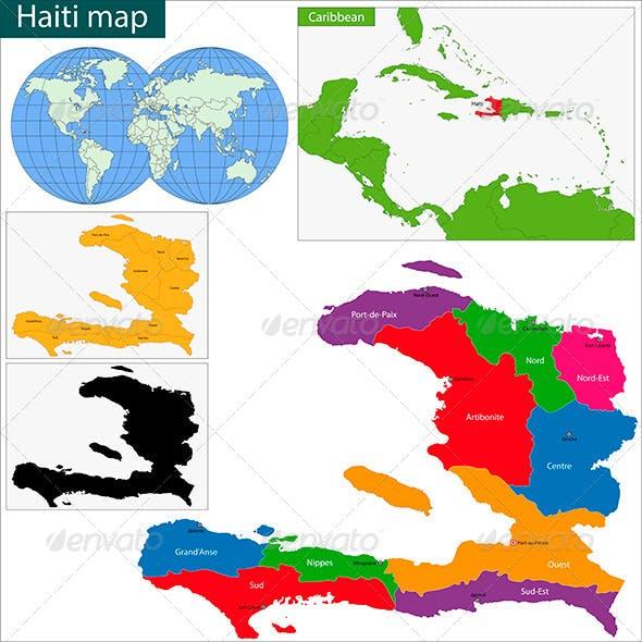 Haiti Map