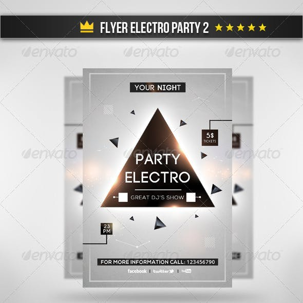Flyer Electro Party 2