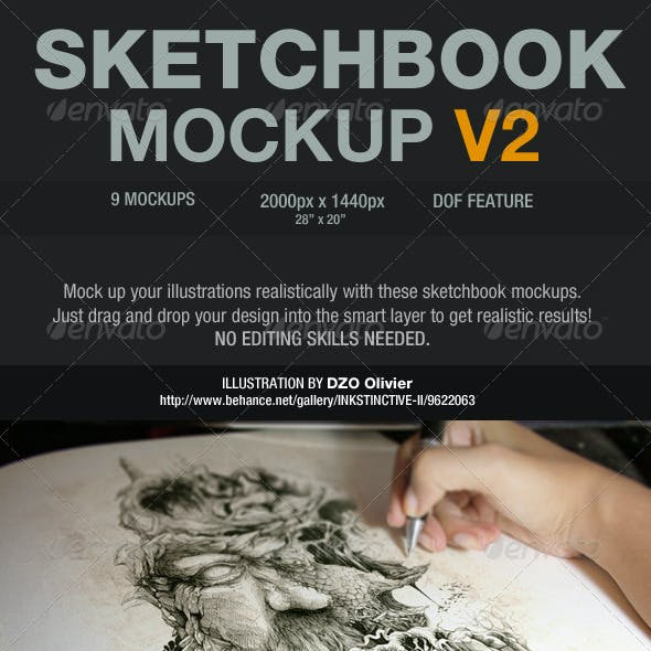 Sketchbook Mockup V2