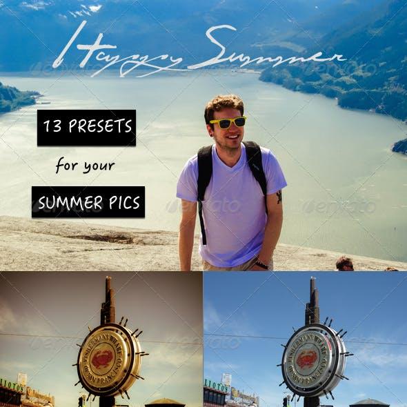 Happy Summer - 13 Summer Effects