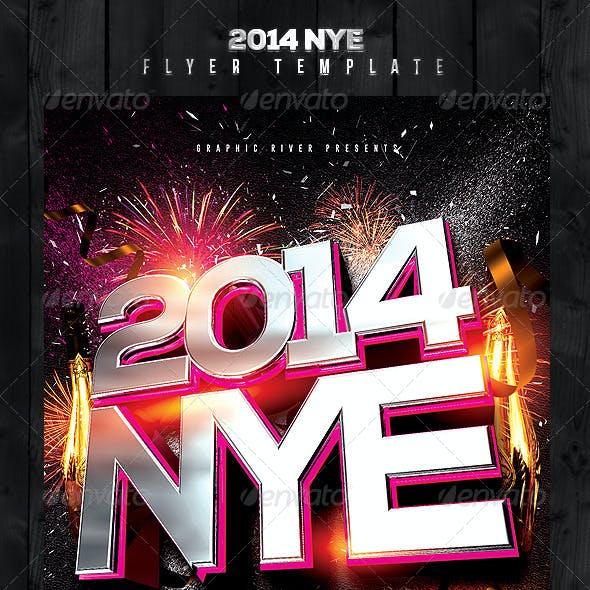 2014 NYE Flyer Template