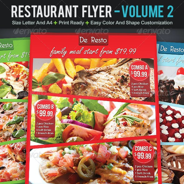 Restaurant Flyer | Volume 2
