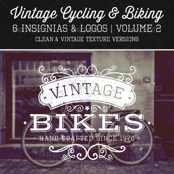 Vintage Cycling Insignias Vol. 2