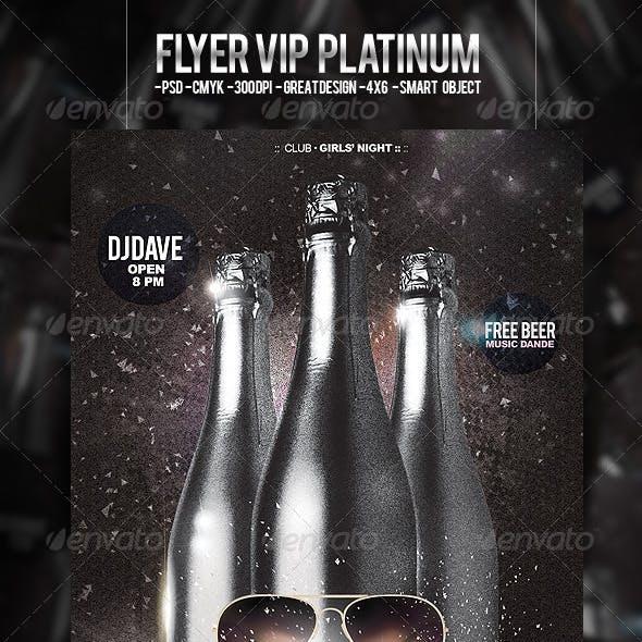 Flyer VIP Platinum