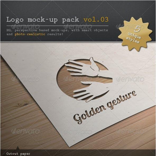 Logo Mock-up Pack Vol.03