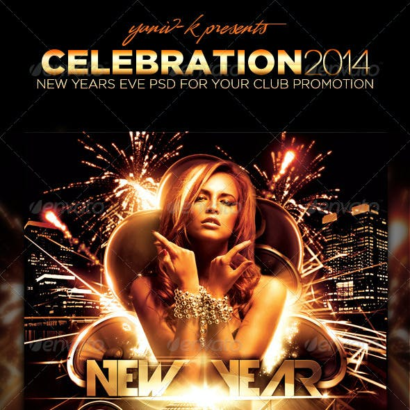 Celebration Flyer Template