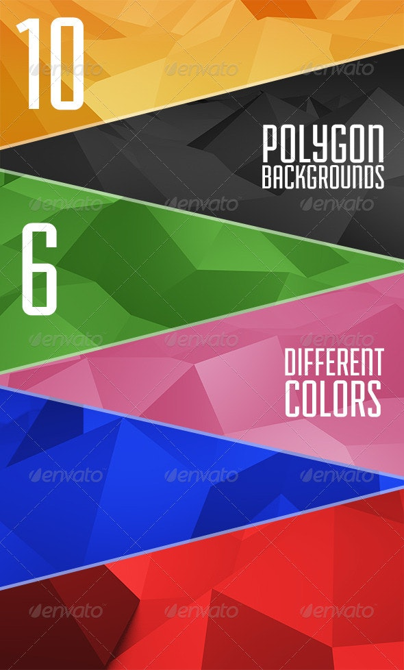 Abstract Polygon Backgrounds - Abstract Backgrounds