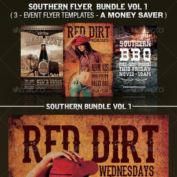 Southern Flyer Templates Bundle Vol 1.