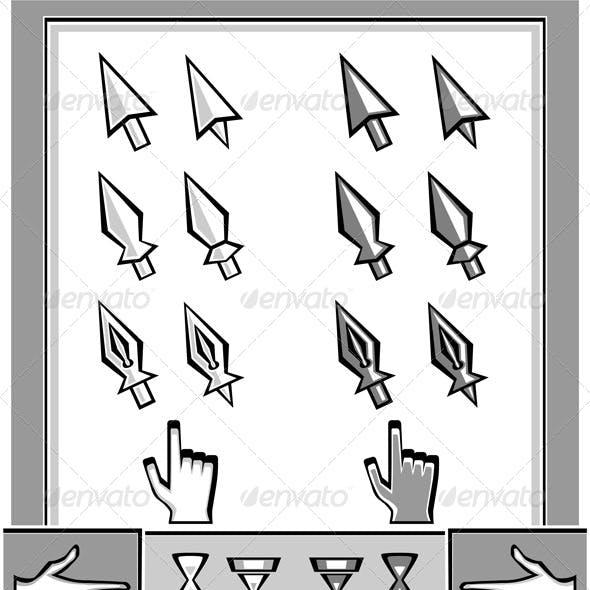 Set Cursors Icons