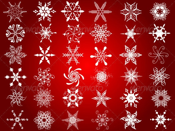 Snowflake designs - Christmas Seasons/Holidays