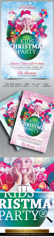 Kids Christmas Flyer 2.0 - Holidays Events