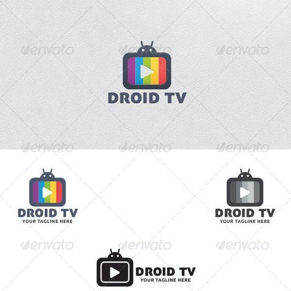 Droid TV - Logo Template